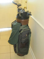 Golf clubs with Bag for right handed Men