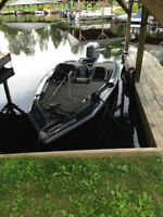 High Performance Tournament Bass  Boat- Fishing Pkg