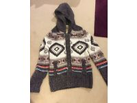 Hollister Knitted hooded jumper