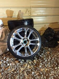 Reduced! Tires and Rims 4x100