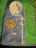 warm winter baby sleeping bag/ chaud doux enveloppe pour l'hiver