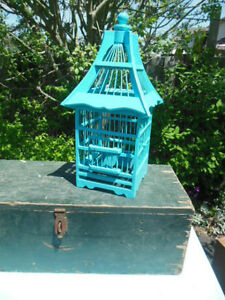 Teal bird cage London Ontario image 1