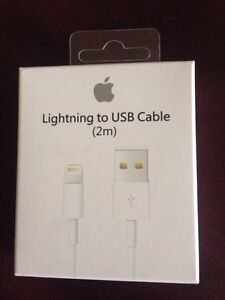 Apple lightning cable 6 feet new in box