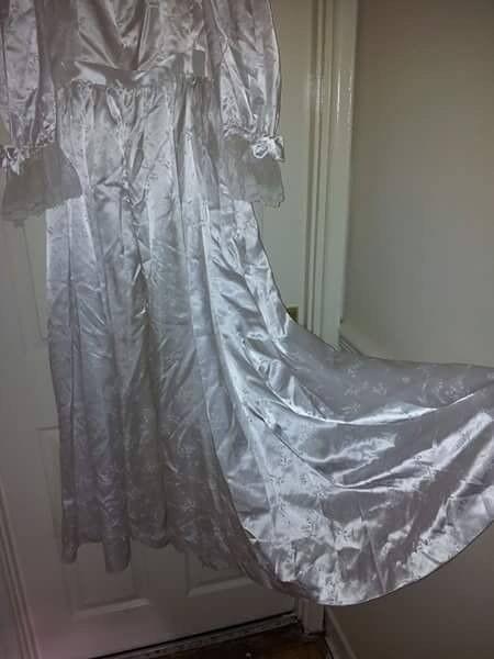Original handmade wedding dress