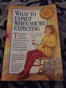 Pregnancy book - what to expect when your expecting