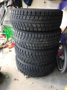 Winter tires and rims for Honda Odyssey