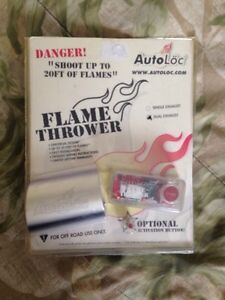 Autoloc  flamethrower kit. Dual exhaust.