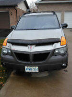 2001 Pontiac Aztek GT SUV, Crossover-MUST SELL-BEST OFFER?