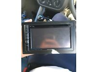 Alpine double din head unit stereo blue tooth sat nav parking screen INE-S900R