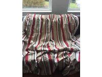 Laura Ashley 'Ripley' striped curtains £50
