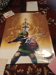 Large Collection of Anime/Game Posters