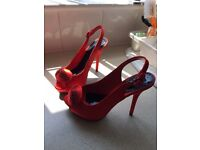 Red Teatro shoes brand new.