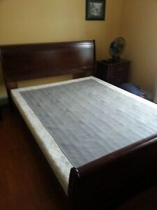 Queen Size Sleigh Bed/Frame