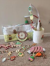 Mamas & Papas Gingerbread Nursery Set