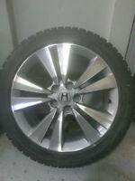 04 mags Honda Accord sur pneus Bridgestone