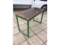 Cafe Bar Restaurant Work Bench Tables x 10
