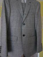 Authentic Club Monaco Wright suit with matching vest.