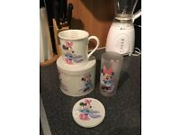 Minnie Mug, Coaster & Glass Set