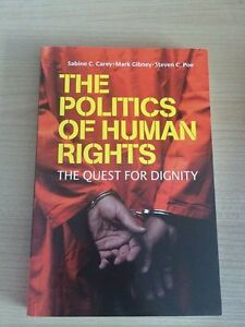 The Politics of Human Rights by Sabine C. Carey (most recent pri