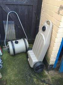 Aqua roll and waste master