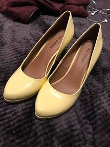 Yellow Spring Shoes
