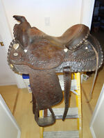 Circle Y equitation saddle & accessories