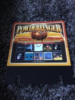 POWDERFINGER complete your collection CARDBOARD PROMOTION  Ferny Grove Brisbane North West Preview