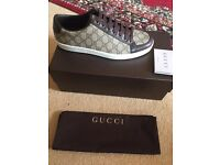 Brand new men's Gucci trainers