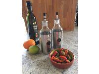 Italian oil & vinegar set