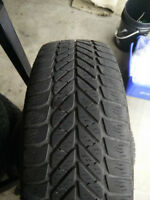 winter tires with steel rims 5 x 100, 195 65 r15