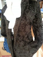 Women's Classic Long Coat SIZE 10  COLOR BROWN   length 38 inch,