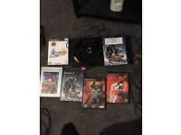 Ps2 console plus 6 games