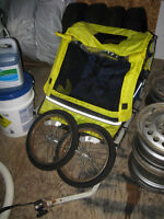 2 Space Weeride Bike Trailer/Chorriot