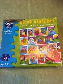 Alphabet giant floor puzzle