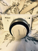 Selling Nikon J1 White Camera in mint condition!