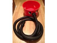 Henry Hoover base with extra long hose and dustfilter