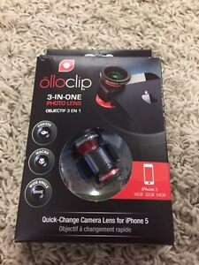 Ollo clip iPhone 5s, SE camera lens Kitchener / Waterloo Kitchener Area image 1