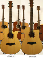 Natural Acoustic Guitars Brand New Full size iMusic18, 19