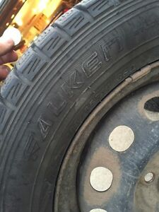 185/65 R14 -- Winter tires for sale  Strathcona County Edmonton Area image 1