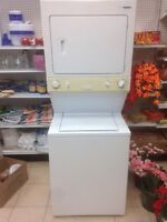 """2 yrs old 27"""" frigidaire laundry Center with warranty for sale"""