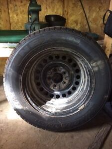 Winter Tires 215/60R15 with rims