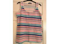 stripe vest size 10