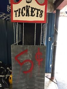 Free Halloween ticket booth