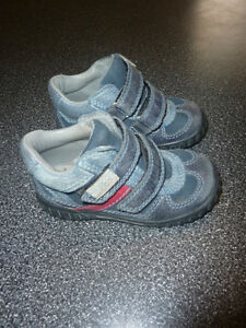 ECCO leather shoes with velcro, toddler size 7, great for spring