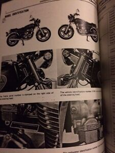 1979 1980 981 Honda CB650 Shop Manual  Regina Regina Area image 2