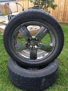 Two 215/55R17