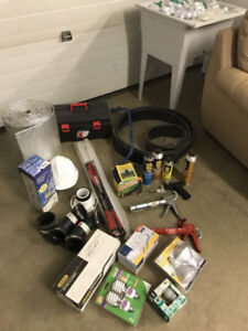 Tools and construction material