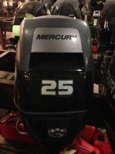 2015 Mercury Marine 25 hp EFI