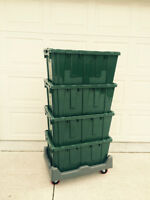 Moving? Save Time & Stress. Rent strong plastic moving boxes.