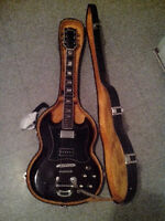 70s Ibanez SG w/ Bigsby, P90